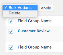 Comment Rating Field Pro Plugin: Bulk Delete