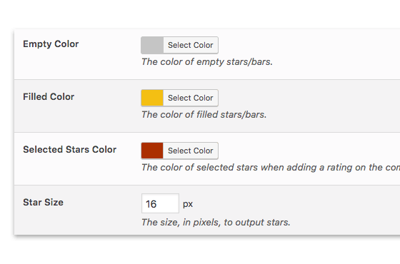 Comment Rating Field Pro: Retina Ready