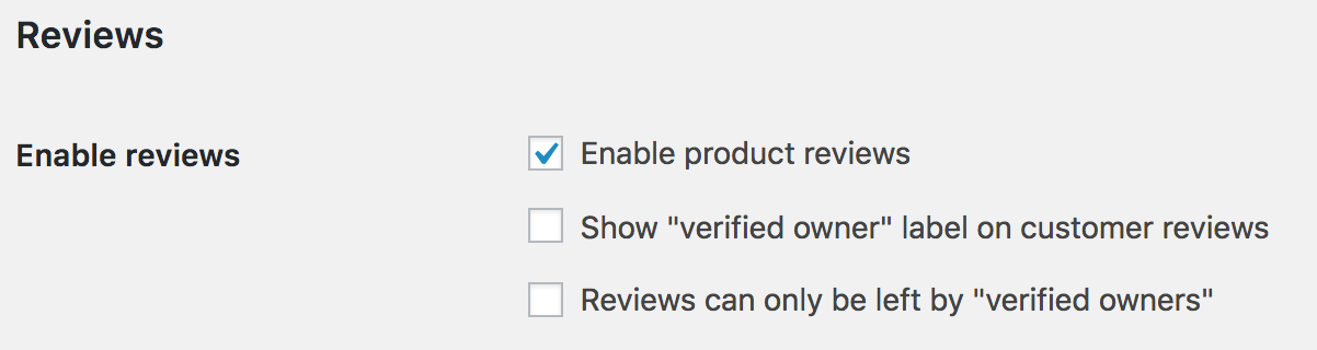 Comment Rating Field Pro: WooCommerce: Enable Product Reviews