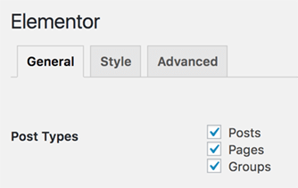 Page Generator Pro: Page Builders: Elementor: Settings