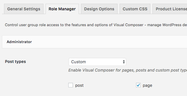 Page Generator Pro: Page Builders: Visual Composer