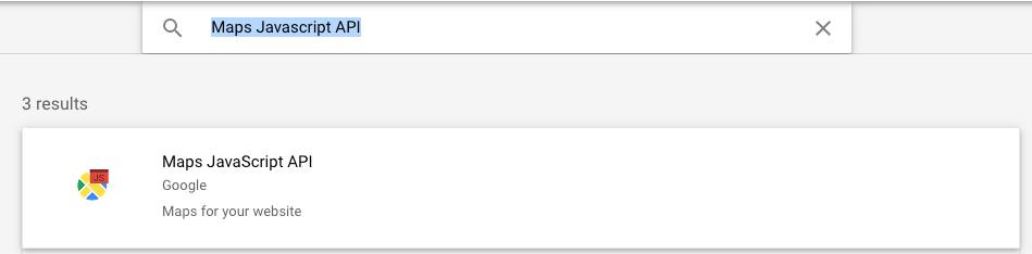 Page Generator Pro: Settings: Google: Maps API: Search