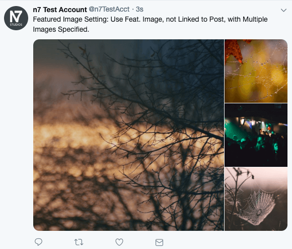 WordPress to Buffer Pro: Featured Image, not Linked to Post: Multiple Images on Twitter