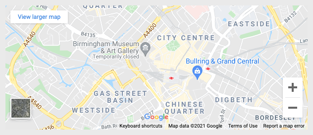 Page Generator Pro: Dynamic Elements: Google Maps: Map Mode: Location without Marker