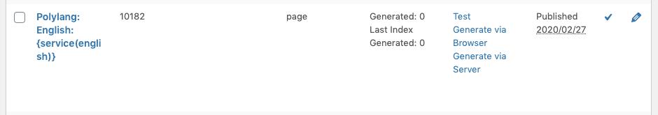 Page Generator Pro: Polylang: Generate Primary Language