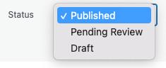 Page Generator Pro: Generate: Content: Quick Edit: Status