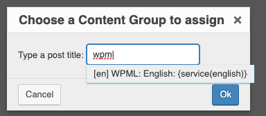 Page Generator Pro: Generate: Multilingual Content: WPML: Content Groups: Connect Translation