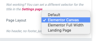 Page Generator Pro: Generate: Page Builders: Elementor: Page Layout